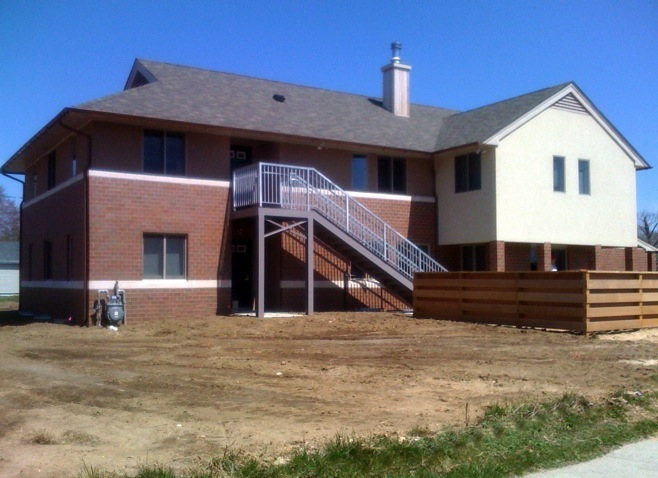Front View with Accessible Stairs